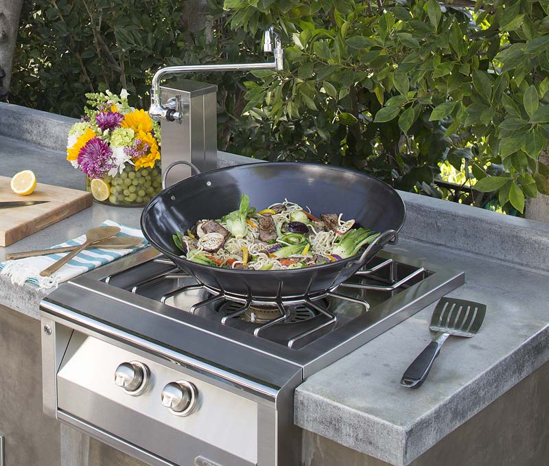 "Alfresco Commercial 21.5"" Wok"