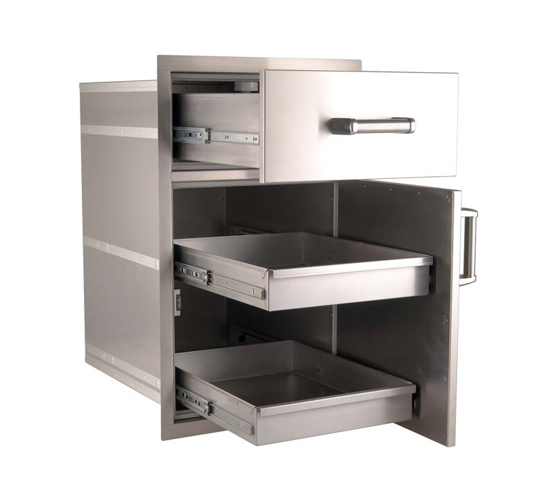FireMagic Large Pantry Door/Drawer Combo