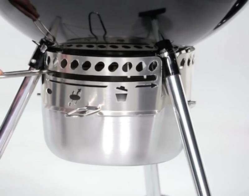 Weber Kettle Premium Charcoal Grill