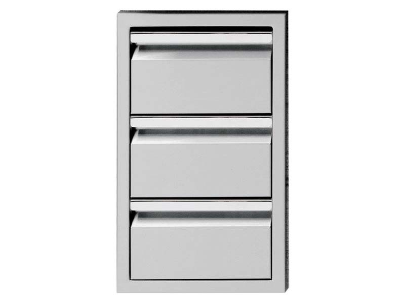 "Twin Eagles 13"" Triple Access Drawers"