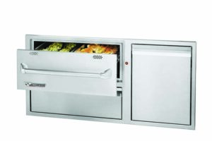 """Twin Eagles 42"""" Warming Drawer Combo"""
