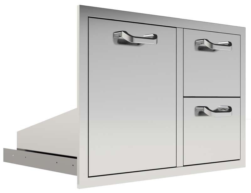 PCM Double Drawer/Roll-Out Combo
