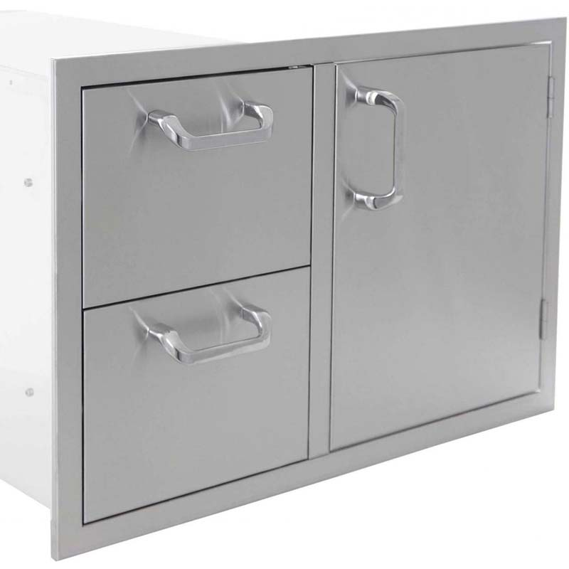 PCM Double Drawer/Door Combo