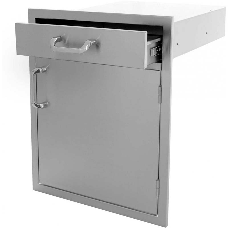 PCM Single Door/Utensil Drawer Combo