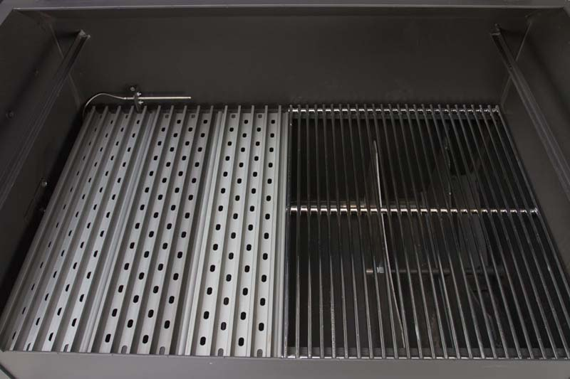Yoder YS640 Pellet Grill on Competition Cart